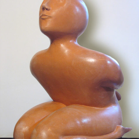 Argilla rossa - Red clay - 48x33x48h