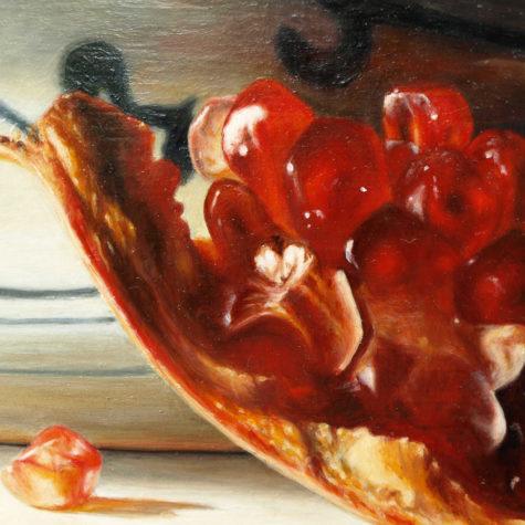 Melograno particolare leggero - Pomegranate particularly lightweight
