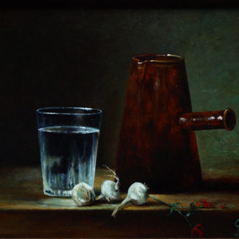 ST-111116 - olio su tela - oil on canvas - 30x24h