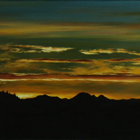 ST1111 - olio su tela - oil on canvas - 50x25h