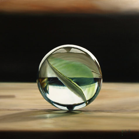 ST26216 - olio su pannello - oil on panel - 51.5x50