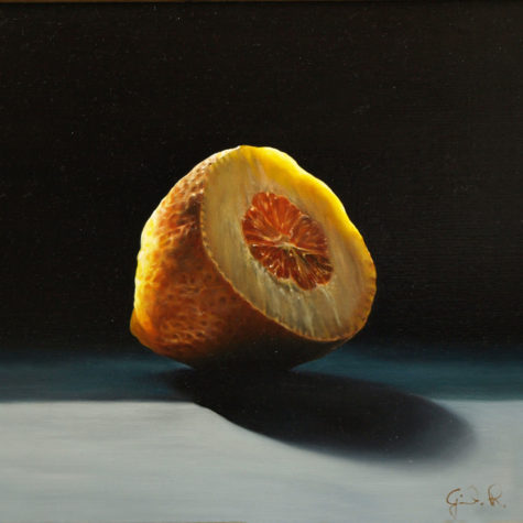ST291112 - olio su pannello - oil on canvas - 22x22h